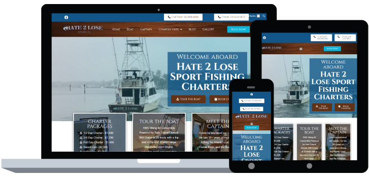 Hate 2 Lose Fishing Charter