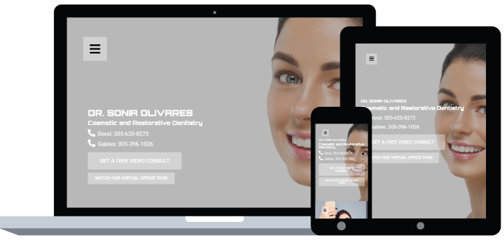 Dr Sonia Olivares Website