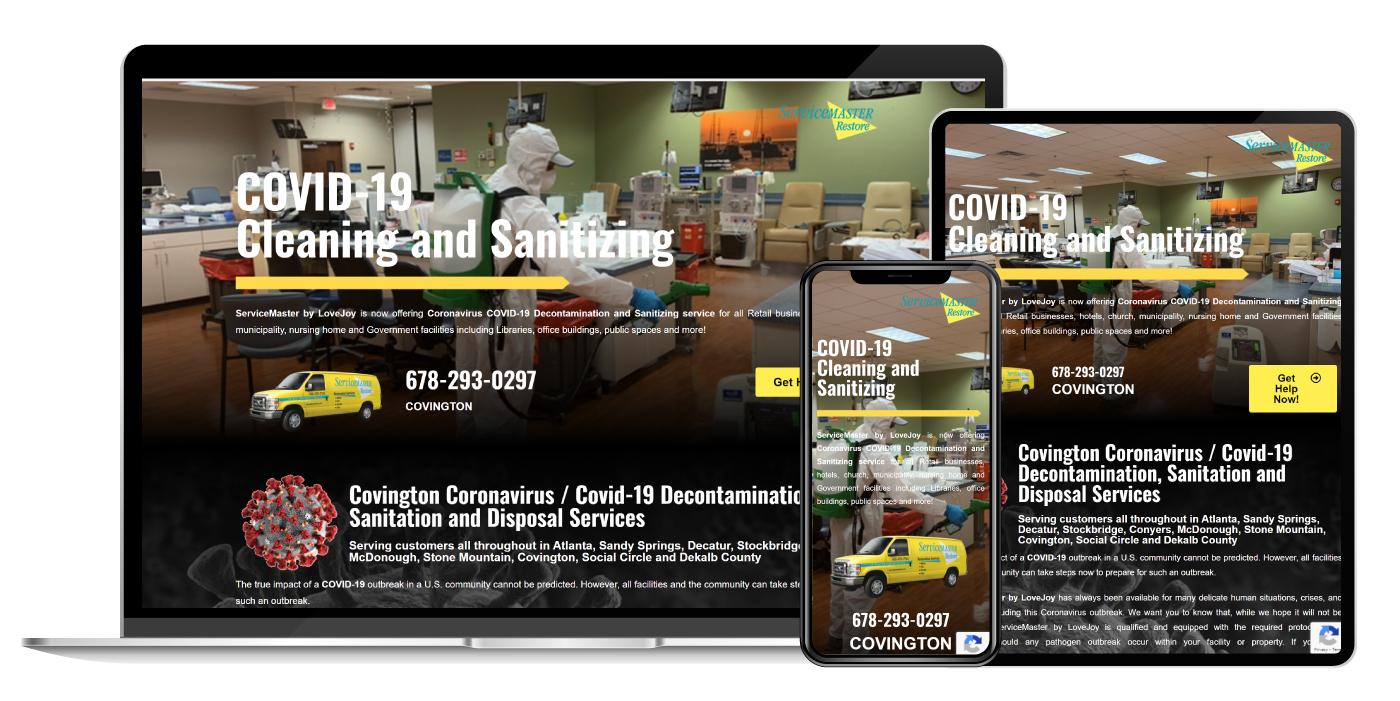Website Design Mockups