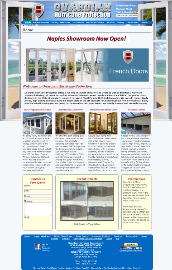 Old Website Design Case Studies